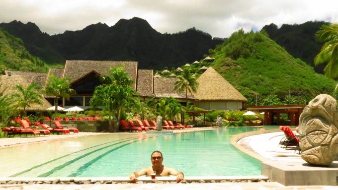 Intercontinental Moorea, Tahití